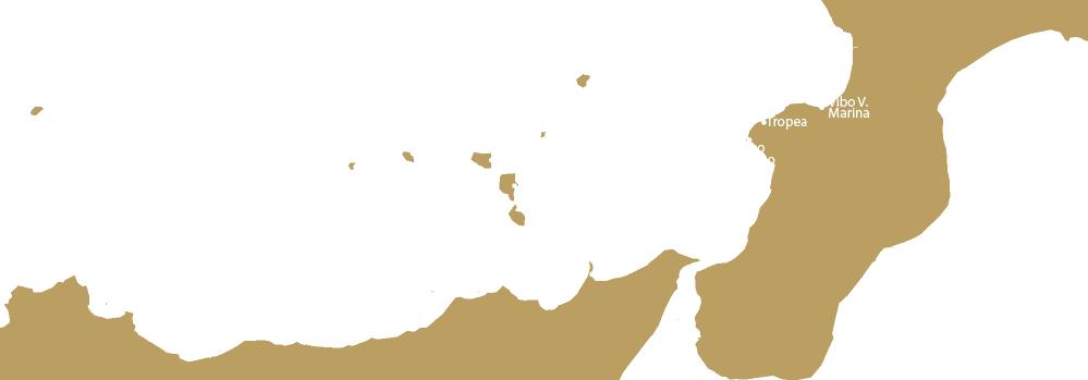 Rotta da Tropea a Salina con Yacht Rent