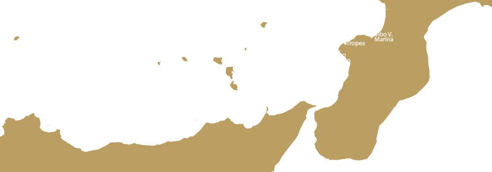 Rotta da Tropea a Vulano con Yacht Rent