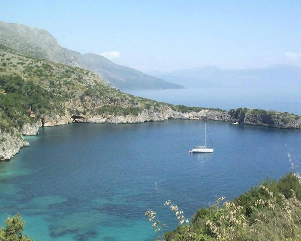 Marina di Camerota: nella foto una delle spiagge più belle d'Italia